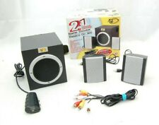 Mad Catz Game Theater 2.1 Speaker System Set – Boxed