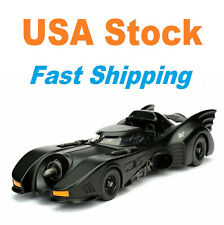 "Batman Batmobile, 1989 Batmobile, Jada, Metals, Diecast Model Toy Car, 9"", 1:24"