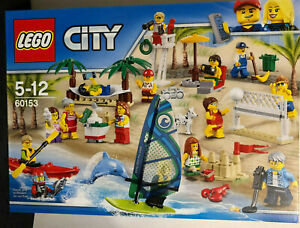 LEGO City - 60153 Stadtbewohner - Ein Tag am Strand Neu&OVP!