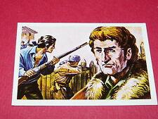 N°61 DANIEL BOONE PIONNIERS CONQUETE OUEST WILLIAMS 1972 PANINI FAR WEST WESTERN