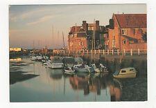 Blakeney Quay At Dusk Norfolk Postcard 352a