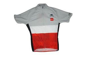 Sugoi Women's Evolution Cycling Jersey Full Zip 3 Pocket Bottle Holder Size S