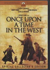 Once Upon A Time In The West Dvd 2 Disc Set Henry Fonda Claudia Cardinale Pg-13