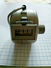 Vintage pedometer USSR mechanical manual