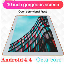 "10"" 128GB Tablet PC Octa Core 3G WIFI Bluetooth Phablet Tablet For Android HD"