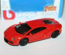 Burago - LAMBORGHINI AVENTADOR LP700-4 (Orange) - 'Street Fire' Model 1:43