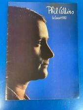 Phil Collins in Concert 1982 - Concert Program - Rare