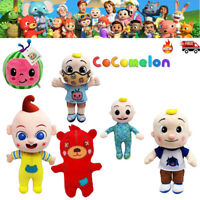 Cocomelon JJ Boy Plush Doll Soft Stuffed Toys Kids Educational Birthday Gift