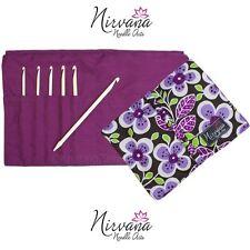 HiyaHiya ::Nirvana Needle Arts Bone Crochet Hooks Set::: F-J US / 3.75-6.0 mm