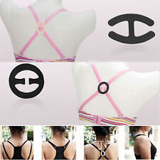 New Cleavage Control Holder Clips Hide Bra Clasp Strap Buckle Adjust Converter