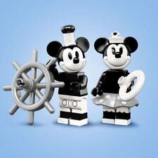 New ListingLego 71024 Disney Series 2 Minifigures Vintage Mickey & Minnie New Opened Foil