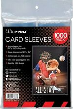 Standard Soft Card Penny Sleeves for cards - 2000 count