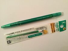 Pilot FriXion Ball Slim 0.38mm Erasable Rollerball Gel Pen ( 1+1) green