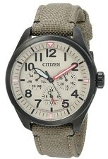 Citizen Eco-Drive Chandler Military Nylon Mens Watch BU2055-08X