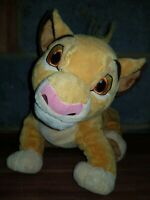 Simba Plush Toy Official DISNEY STORE Exclusive THE LION KING FREE P&P