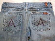 Seven 7 For All Mankind Jeans A Pocket  Bootcut size 29 W32 I32 R.5 C9.5 USA