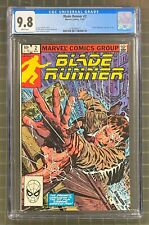 Blade Runner #2 Marvel Comics 1982 Cgc 9.8 Movie Adaptation Part 2 of 2
