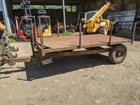 3 TON FARM MUCK TIPPING TRAILER FOR SMALL HOLDING OR HORSE YARD NEEDS SIDES