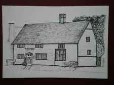 POSTCARD SOCIAL HISTORY PENCIL SKETCH OF COTTAGE