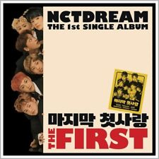 NCT DREAM [THE FIRST] 1st Single Album CD+36p PhotoBook+PhotoCard K-POP SEALED