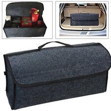 Gray Felt Cloth For Car Auto Cargo Storage Organizer Bag Console Folding Bag Hot