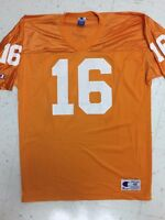 CHAMPION PEYTON MANNING Tennessee Volunteers Football Jersey Size 48 Vintage 90s