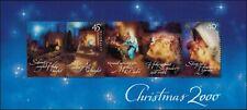 2000 AUSTRALIA Christmas M/S MNH