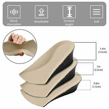 Comfortable Invisible Height Increase Insoles Shoe Inserts Heel Lifts Pad Taller