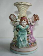 Groupe en porcelaine de Meissen, décor d' enfants, hauteur 23 cm