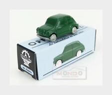 Fiat 600 1955 Dark Green OFFICINA-942 1:76 ART1016A