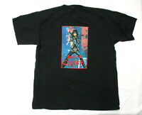 "Alice Cooper ""We're Not Worthy"" T-Shirt Tour Concert 1997 VINTAGE Wayne's World"