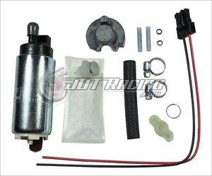 Walbro 255lph HP Fuel Pump GSS341 & Install Kit 90-93 Integra 88-91 Civic CRX