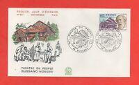 FDC - 1975 - Le théâtre du peuple de BUSSANG - Vosges  (808)