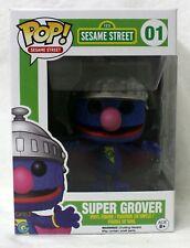 Funko Pop Sesame Street #01 Super Grover Vinyl Figure