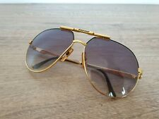 """Rare CARRERA BOEING COLLECTION 5705 91 """"LARGE"""" Gold Sunglasses Made in Germany"""