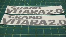 Suzuki Grand Vitara 2.0 decals stickers graphics Side restoration replacement