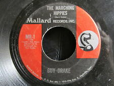 ANTI-HIPPIE 45: GUY DRAKE The Marching Hippies/Liza's Sugar (C&W INSTRUMENTAL)