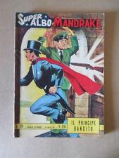 Super Albo MANDRAKE n°126 1965 edizioni Spada [G697]