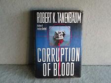 CORRUPTION OF BLOOD ROBERT K TANENBAUM Legal Thriller Crime Mystery Drama