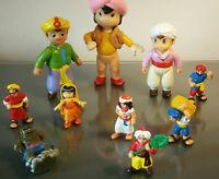 SINDBAD Anime TV-Serie vintage Figuren 1978 SCHLEICH BULLY TAURUS AliBaba selten