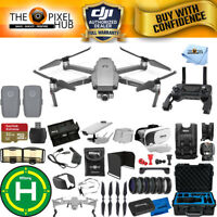 DJI Mavic 2 Zoom 2 Battery PRO Accessory with Waterproof Case, Drone Vest + MORE