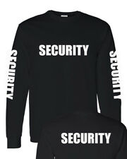 SECURITY UNIFORM Men's long sleeve T-Shirt.