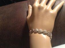 "QVC Beverly Hills Sterling Silver .925 Heart Bracelet 7.5"""