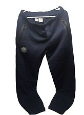 St Louis Blues Levelwear Large Heavy Sweat Pants - Navy Blue - NWT