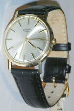 Rotary Gents 9ct gold watch,1970,s Manual Winding,serviced,good working order