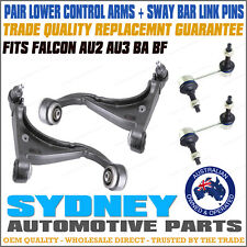 1For Ford Falcon Front Lower Control Arms & Sway Bar Link AU2 BA BF 00-08 Models