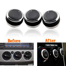 3 pcs Air Condition Panel Control Switch Knob Buttons for Focus 2 MK2 MK3 Mondeo