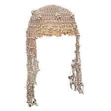 Gold pharaon de perles coiffe costume robe fantaisie bijoux égyptiens