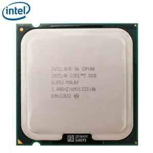 Intel Core 2 Duo Processor E8400 - 3GHz - LGA775 - FREE SHIPPING!