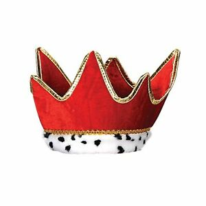 Medieval Plush Red Crown